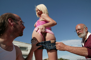 Crazy teen whore pleasing two dirty gran - XXX Dessert - Picture 3