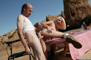 Crazy teen whore pleasing two dirty gran - XXX Dessert - Picture 12