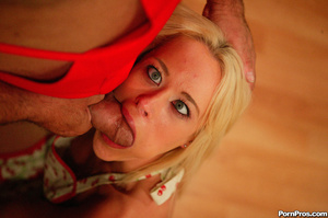 Dirty old fart seducing a stupid young b - XXX Dessert - Picture 5
