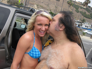 Blonde Teen Addison Fucks Ron Jeremy's O - XXX Dessert - Picture 1