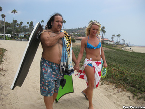 Blonde Teen Addison Fucks Ron Jeremy's O - XXX Dessert - Picture 3