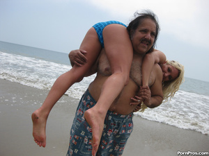 Blonde Teen Addison Fucks Ron Jeremy's O - XXX Dessert - Picture 7