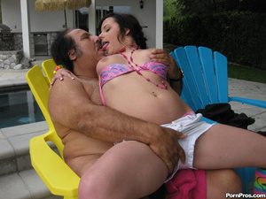 Young slut jumps on Ron Jeremy's fat dic - XXX Dessert - Picture 4