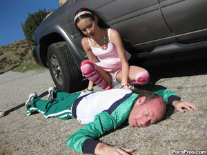 Horny Teen Gets fucked my older Jogger. - XXX Dessert - Picture 3