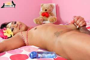Horny shemale with massive sexual appeti - XXX Dessert - Picture 13