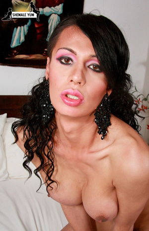 Super hot tranny beauty - XXX Dessert - Picture 11
