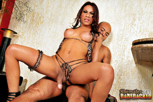 Sexy shemale in raw bareback action - XXX Dessert - Picture 9