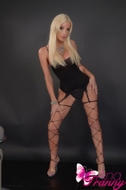 gosh tranny black corset