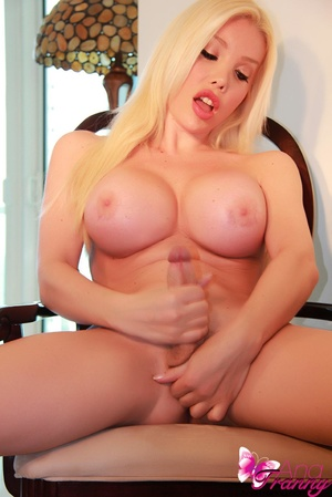 Big Tits and Big Cock Tranny awakens the - XXX Dessert - Picture 12