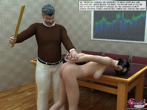 Principal of School Fuck Two Shemale Gir - XXX Dessert - Picture 3