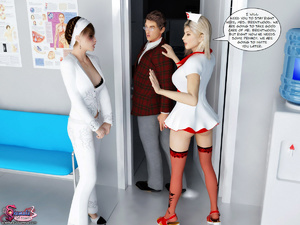 The Ultimate 3D Sex Therapy With Hot Two - XXX Dessert - Picture 2