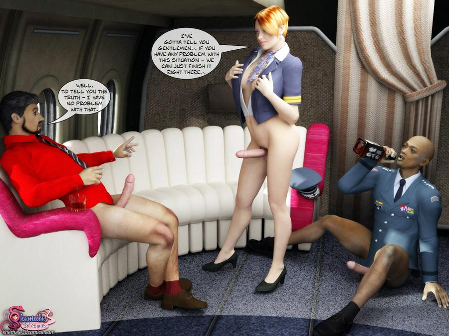 from Joshua transsexual flight attendant