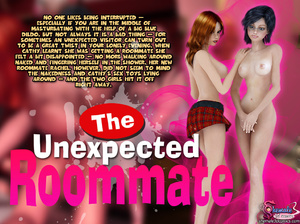 The Unexpected Roommate - Shemale School - XXX Dessert - Picture 1