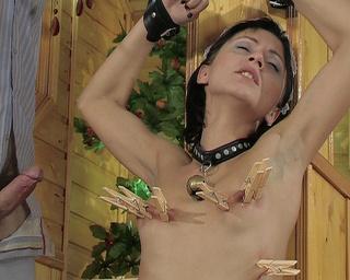 submissive petite slave chick