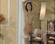 breast tortured enslaved girl