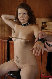 awesome enslaved girl gets