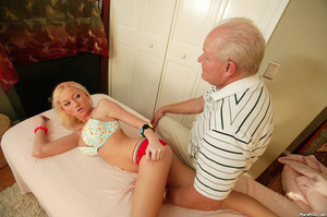 This girl gets old over this old dudes c - XXX Dessert - Picture 5