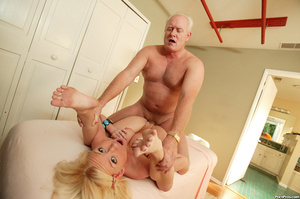 This girl gets old over this old dudes c - XXX Dessert - Picture 12