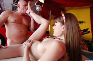 Teen whore wants to tease and fuck old m - XXX Dessert - Picture 8