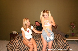 Milf and teen sex action - XXX Dessert - Picture 10
