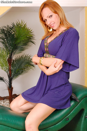 Alessandra is an exotic T-Girl from Sout - XXX Dessert - Picture 1
