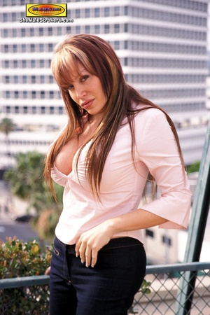 Allanah is one of the bustiest transsexu - XXX Dessert - Picture 1