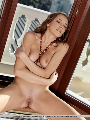 Awesome view of Sandra's nice perky brea - XXX Dessert - Picture 13