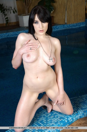 Raven-haired stunner with large, lusciou - XXX Dessert - Picture 8