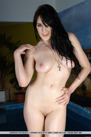 Raven-haired stunner with large, lusciou - XXX Dessert - Picture 10