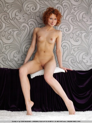 Crazy red hair on this model who has smo - XXX Dessert - Picture 6