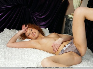 Crazy red hair on this model who has smo - XXX Dessert - Picture 17