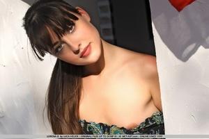 Lorena has dark long hair and cat like e - XXX Dessert - Picture 18