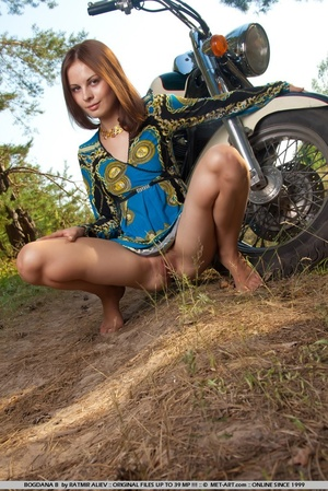 Tags: Closeup, motorcycle, perky nipples - XXX Dessert - Picture 1