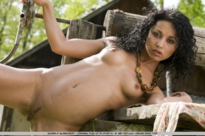 Tags: Black hair, exotic beauty, outdoor - XXX Dessert - Picture 8