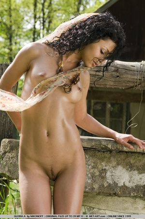 Tags: Black hair, exotic beauty, outdoor - XXX Dessert - Picture 15