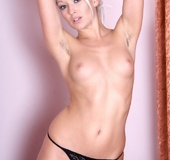 Tags: Big butt, blonde, fishnet stockings, hairy armpits, high heels,