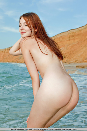 Sly girl who gets nude and has a great l - XXX Dessert - Picture 12