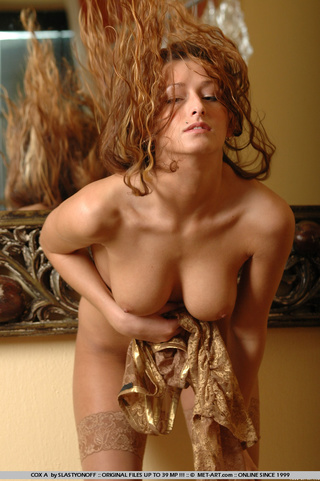 brown curly haired woman