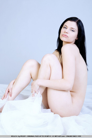 Tags: Lingerie, pale skin, stockings. - XXX Dessert - Picture 4