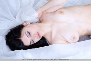 Tags: Lingerie, pale skin, stockings. - XXX Dessert - Picture 5
