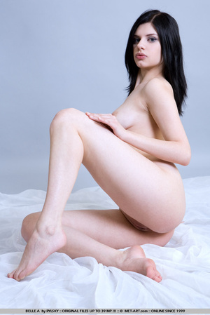 Tags: Lingerie, pale skin, stockings. - XXX Dessert - Picture 7
