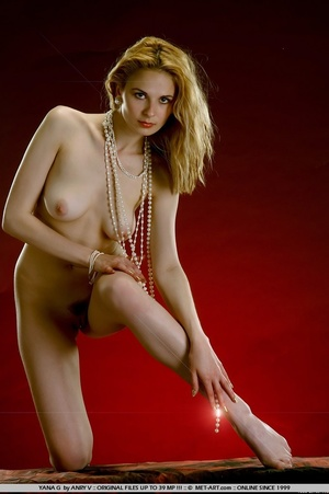 Tags: Lingerie, pearls. - XXX Dessert - Picture 6
