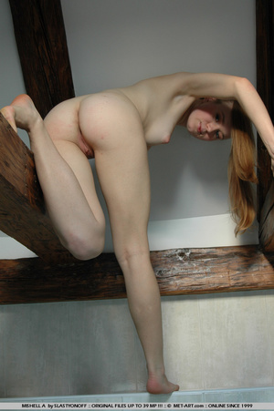 Blonde amateur with pig tails and round  - XXX Dessert - Picture 5