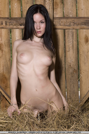Naughty looks from this dark haired girl - XXX Dessert - Picture 2
