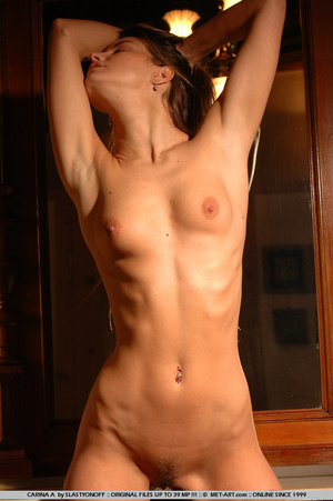 Carina has long streaky blonde hair and  - XXX Dessert - Picture 15