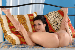 Nasty girl is back with an animal print  - XXX Dessert - Picture 1