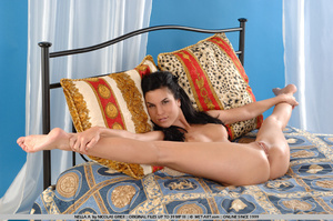 Nasty girl is back with an animal print  - XXX Dessert - Picture 4