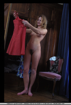 This set has a cute blonde playing dress - XXX Dessert - Picture 1