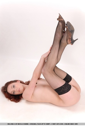 Sizzling hot redhead with round, delecta - XXX Dessert - Picture 13