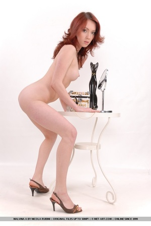 Sizzling hot redhead with round, delecta - XXX Dessert - Picture 16